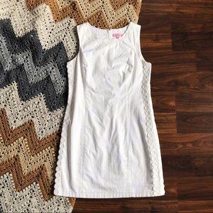 Lilly Pulitzer Mila Shift Dress Resort White